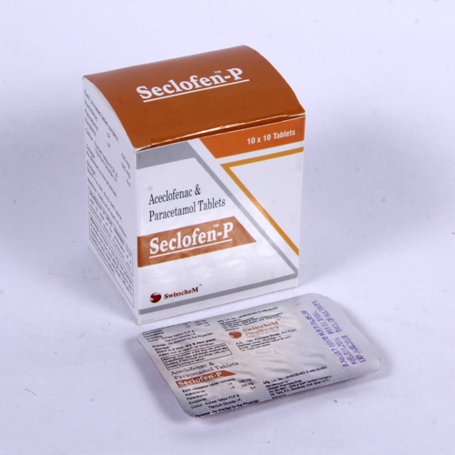 Aceclofenac & Paracetamol Tablet for Pharma franchise