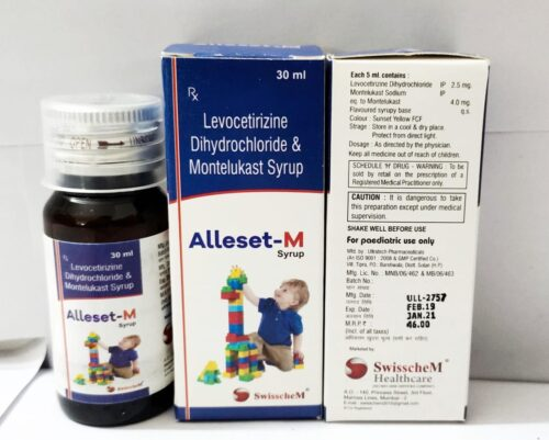 ALLESET-M Dry Syrup