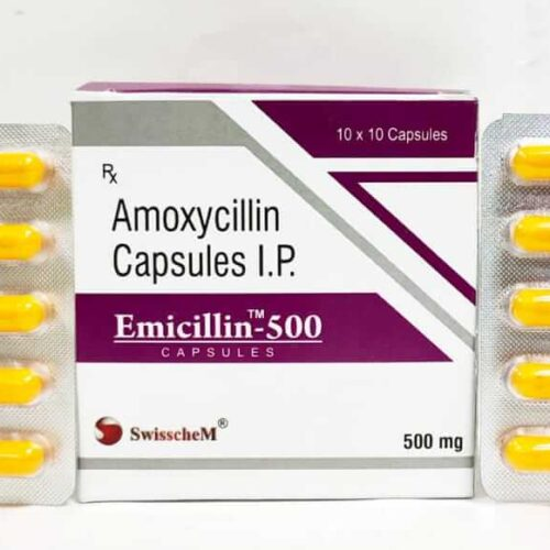 EMICILLIN-500 MG-CAPSULES